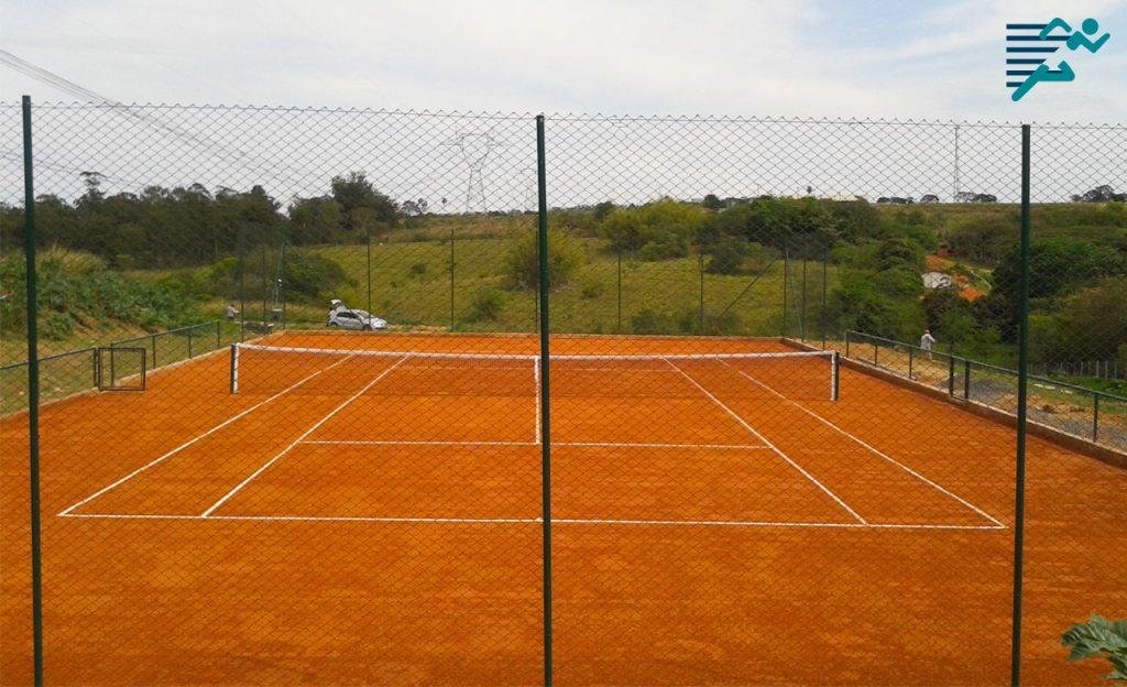 Quadra de Saibro para Tenis
