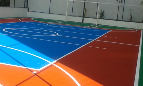 Quadra de Futsal Completa